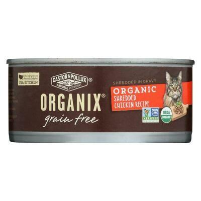 Household / Pet / Castor + Pollux Cat Food Shredded Chicken
