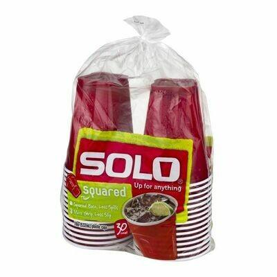 Household / Plastic / Solo Plastic Cups 30 ct