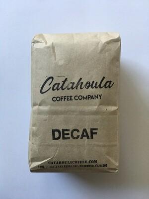 Coffee / Beans / Catahoula Coffee Decaf, 12 oz