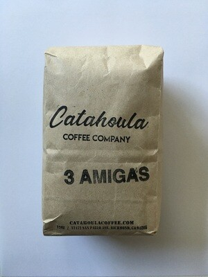Coffee / Beans / Catahoula Coffee 3 Amigas, 12 oz