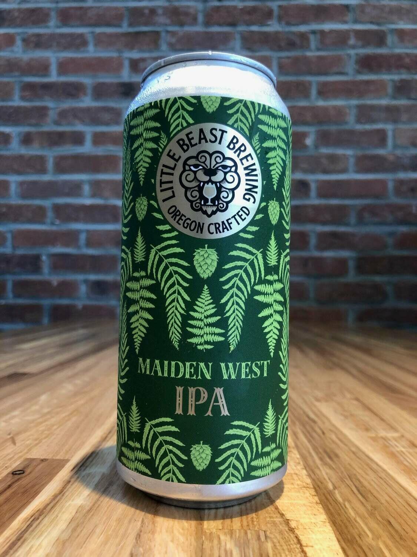 Beer / 16 oz / Little Beast, Maiden West IPA  16 oz