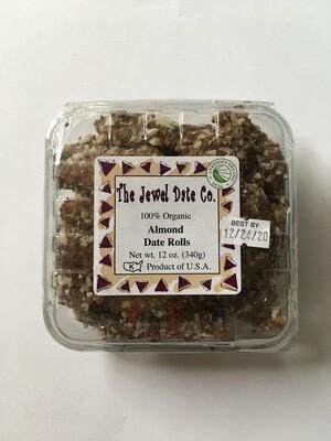 Produce / Fruit / Organic Date, Almond Roll, 12 oz.