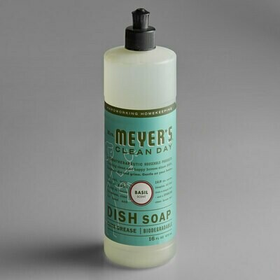 Household / Detergents / Mrs. Meyers Dish Soap Basil