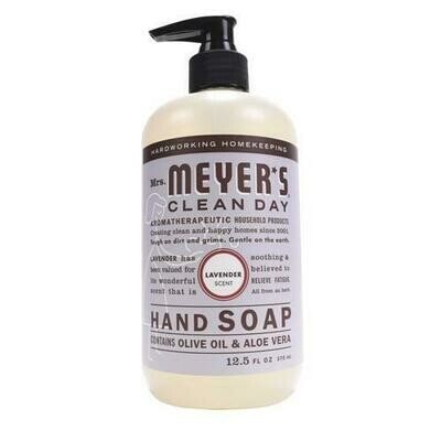 Household / Soap / Mrs Meyers Hand Soap Lavender, 12.5 oz