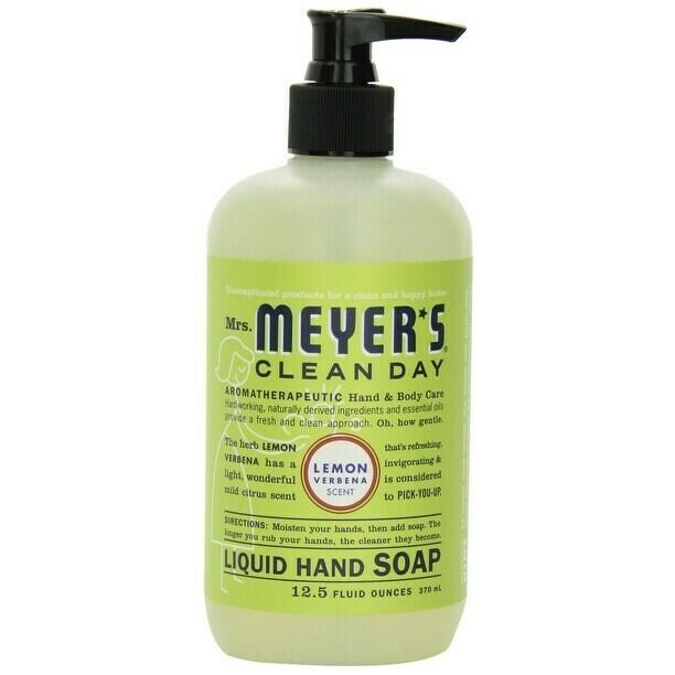 Household / Soap / Mrs Meyers Hand Soap Lemon Verbena, 12.5 oz