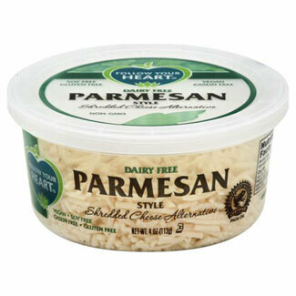 Deli / Dairy Substitute / Follow Your heart, Vegan Shredded Parmesan, 4 oz