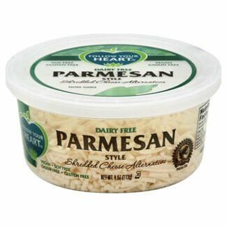 Deli / Dairy Substitute / Follow Your heart, Vegan Shredded Parmesan, 4 oz