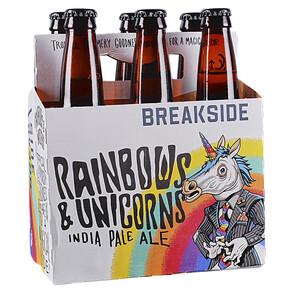 Beer / 6 pack / Breakside, Rainbows and Unicorns - Session IPA, 6 pk