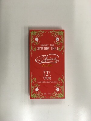 Candy / Chocolate / L'Amourette Chocolate, Cayenne Chili & Cinnamon
