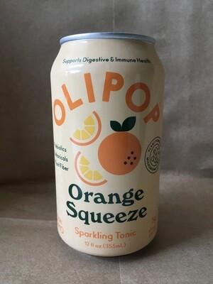 Beverage / Kombucha / Olipop Orange Squeeze, 12 oz