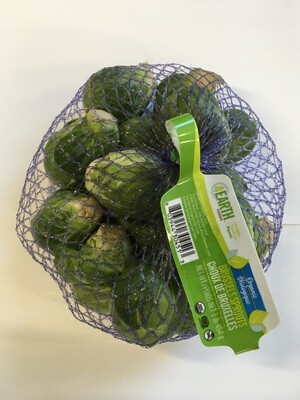 Produce / Vegetable / Organic Brussel Sprouts, 1 lb bag