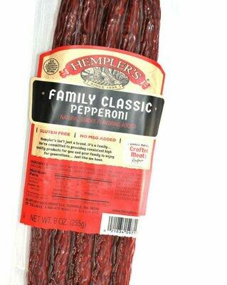 Deli / Meat / Hempler Classic Pepperoni Stick, 9 oz.