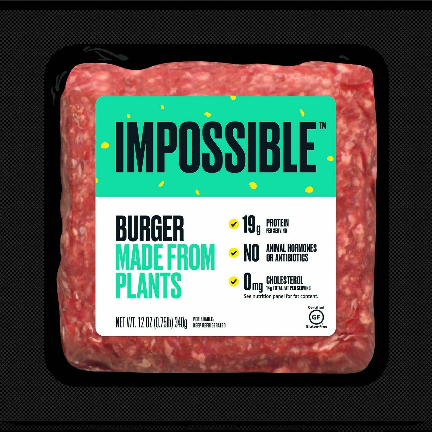 Deli / Meat Substitute / Impossible Burger Brick, 12 oz.