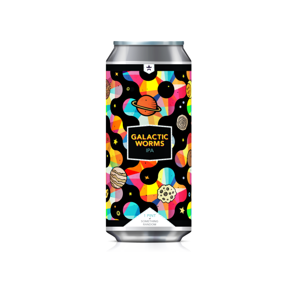 Beer / 16 oz / New Glory, Galactic Worms, IPA 16 oz