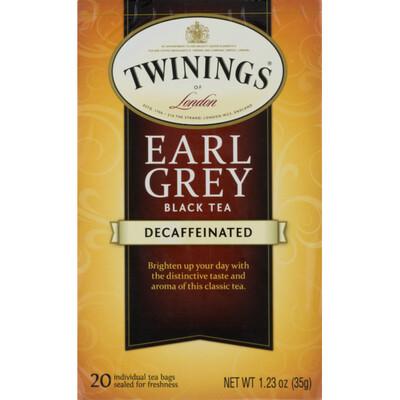 Grocery / Tea / Twinings Decaf Earl Grey Tea