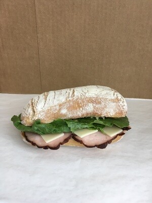 Franklin Bros. Ham & Swiss Sandwich