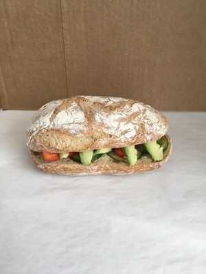 Franklin Bros. Vegan Sandwich
