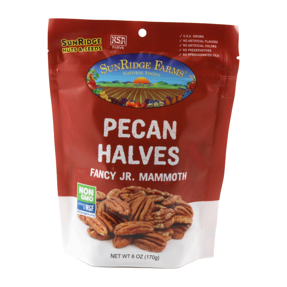 Bulk / Nuts / Pecan Halves, 6 oz