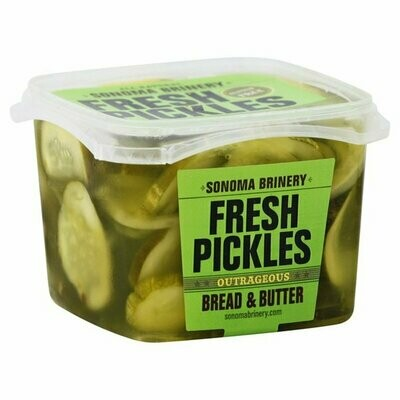 Deli / Pickles / Sonoma Brinery Outrageous Bread & Butter Pickles, 16 oz