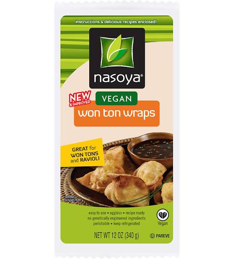 Grocery / International / Nasoya Wonton Wraps, 12 oz