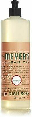 Household / Soap / Mrs. Meyers Dish Soap Geranium