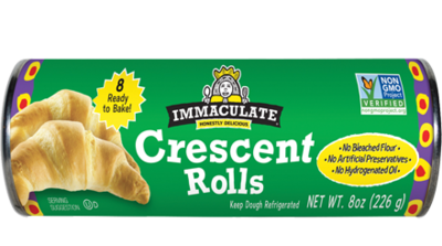 Bread / Buns / Immaculate Baking Co. Organic Crescent Rolls, 8 oz