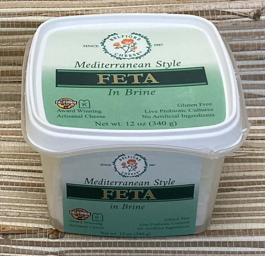 Deli / Cheese / Belfiore Feta in Brine, 12 oz