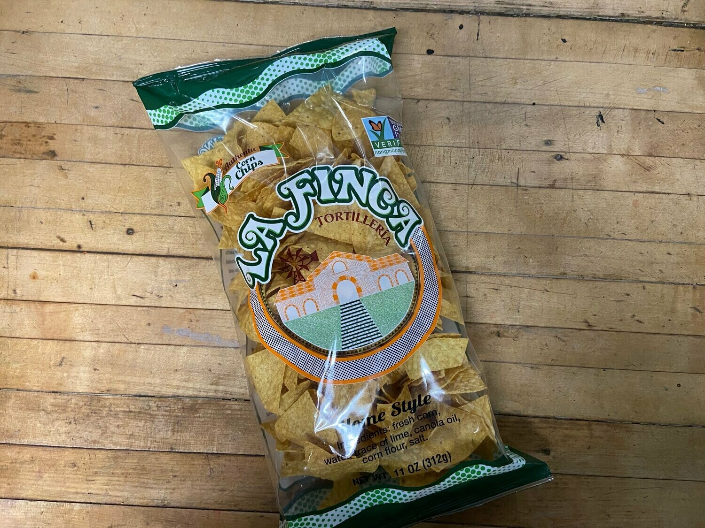 Chips / Big Bag / La Finca Home Style Tortilla Chips , 11 oz.