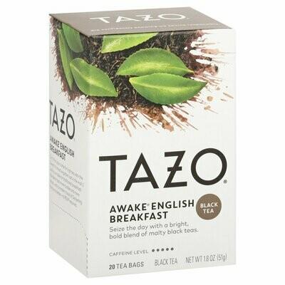 Grocery / Tea / Tazo Awake English Breakfast Tea, 20 tea bags