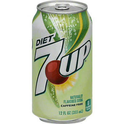 Beverage / Soda / Diet 7up 12 oz