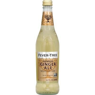 Beverage / Soda / Fever Tree Ginger Ale 16.9oz