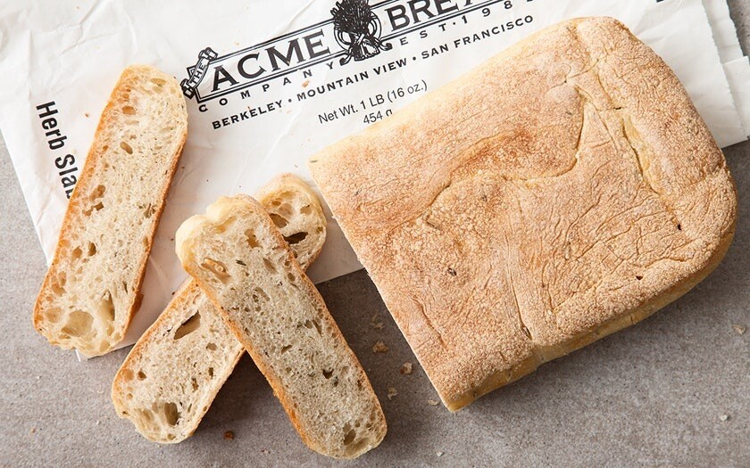 Bread / Fresh Baked / Acme Herb Slab