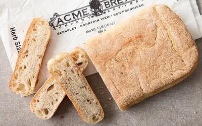 Bread / Fresh Baked / Acme Herb Slab