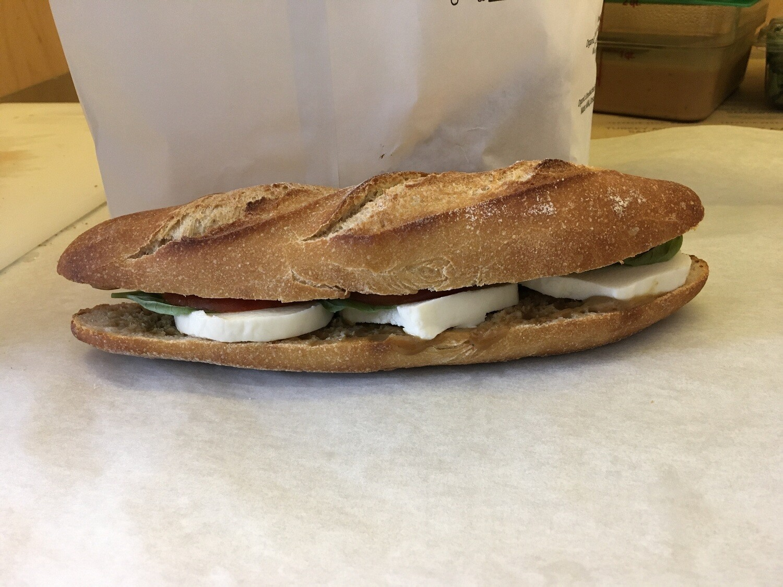 Franklin Bros. Caprese Sandwich