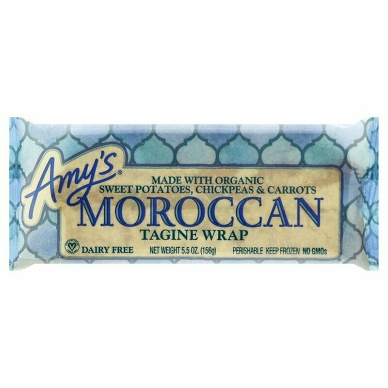 Frozen / Entree / Amy's Moroccan Tagine wrap, 5.5 oz
