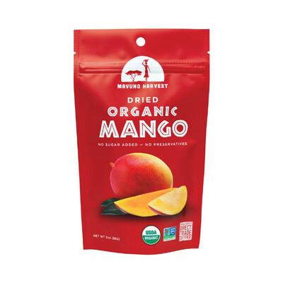 Snack / Dried fruit / Mavuno Harvest Dried Mango, 2 oz