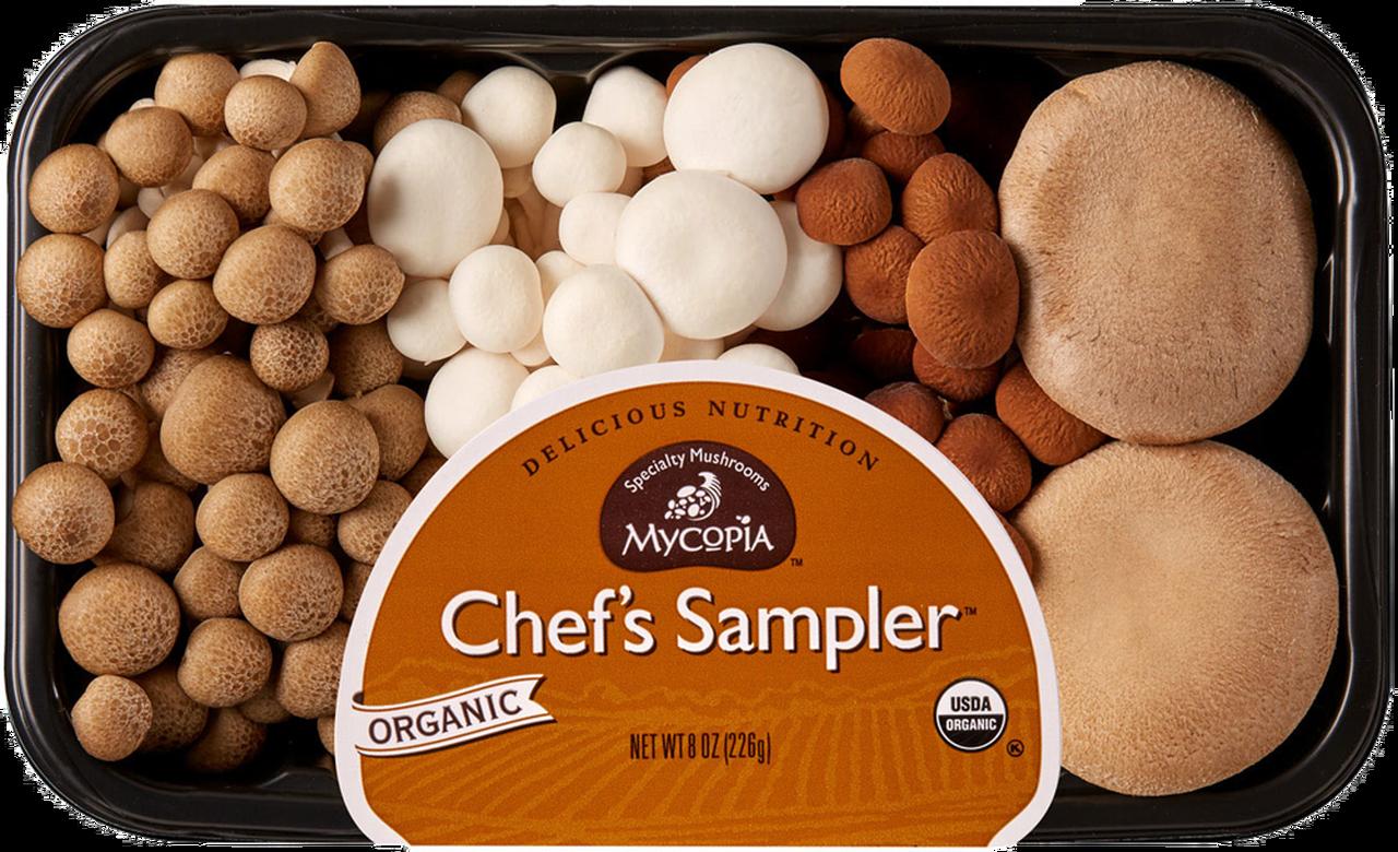 Produce / Vegetable / Organic Chef's Sampler Mushroom, 8 oz