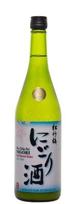 Wine / Sake / Sho Chiku Bai Nigori Silky Mild Sake , 1.5 L