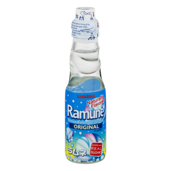 Beverage / Soda / Hata Ramune Original, 6.7 oz
