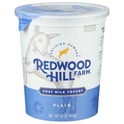 Dairy / Yogurt / Redwood Hill Farm Plain Goat Yogurt, 32 oz