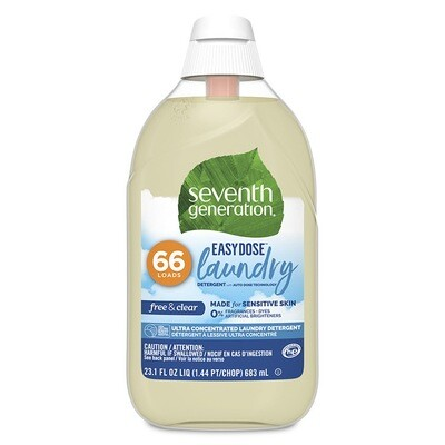 Household / Laundry / 7th Generation Easy Dose Laundry Free and Clear
