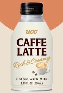 Beverage / Coffee / UCC Cafe latte with Milk, Original, 8.79 oz
