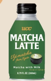 Beverage / Coffee & Tea / UCC Matcha Latte, 8.79 oz