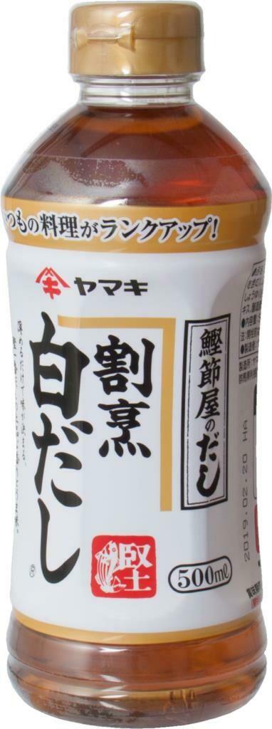Grocery / International / Yamaki Kappo , Shirodashi, 500 ml