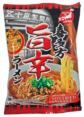 Grocery / Ramen / Igarashi Seimen Kitakata Umakara Ramen (spicy), 3.56 oz