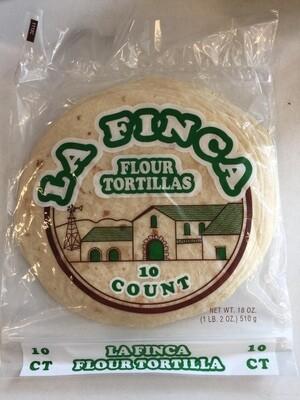 Bread / Tortillas / La Finca Flour Tortillas, 10 count