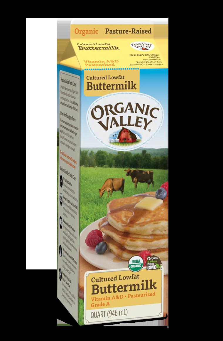Dairy / Milk / Organic Valley Organic Buttermilk, Quart