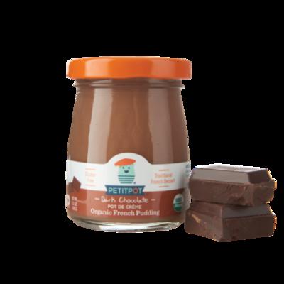 Dairy / Petit Pot Dark Chocolate Organic French Pudding, 3.5 oz