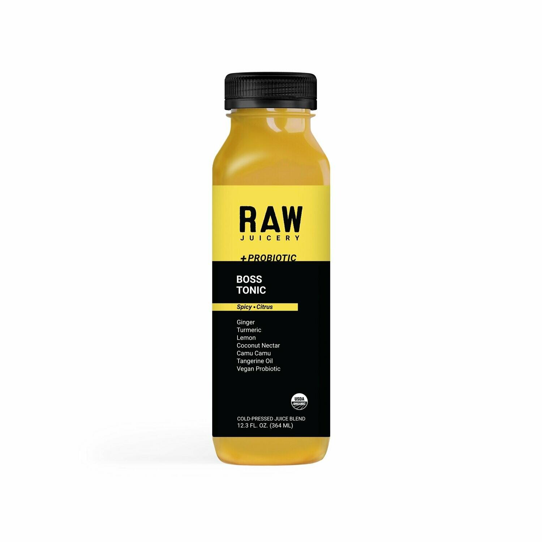 Beverage / Juice / Raw Juicery Boss Tonic, 12 oz.