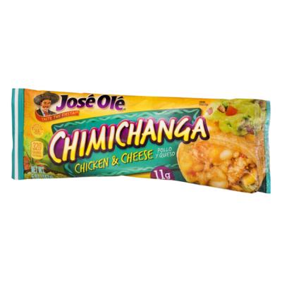 Frozen / Entree / Jose Ole Chimichanga Chicken/Cheese